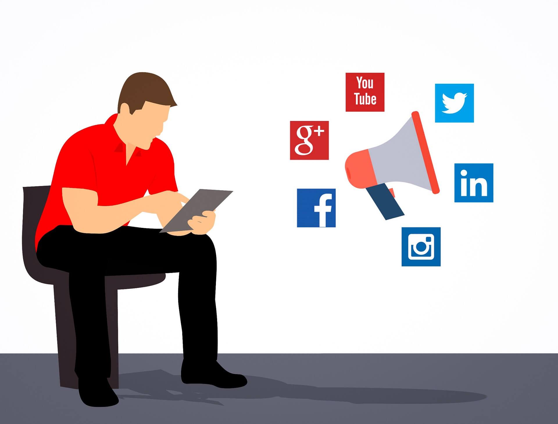 Z jakich mediów społecznościowych korzystać